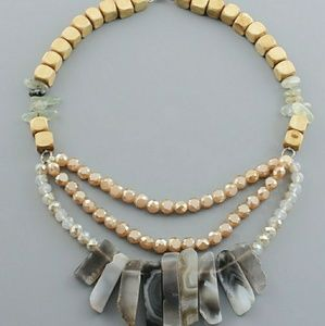 Jewelry - Agate Collar Necklace